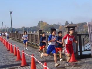 砂沼マラソン1