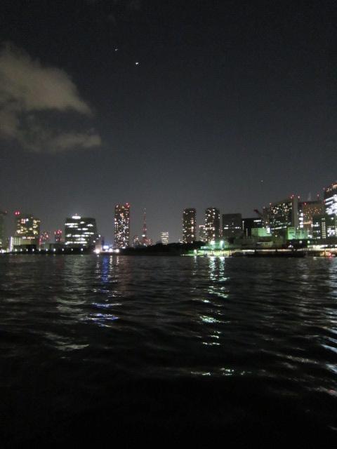東京タワーが光ってない