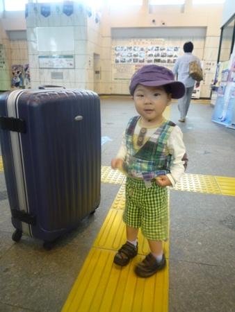 佐久平駅で
