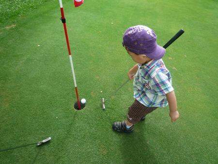 パッティングゴルフ1