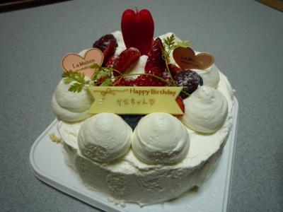 バースデーケーキ♪