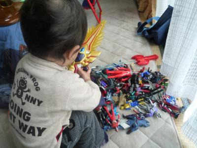 おもちゃいっぱーい♪
