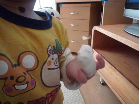 指の怪我2