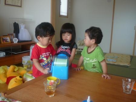 手作りアイス1