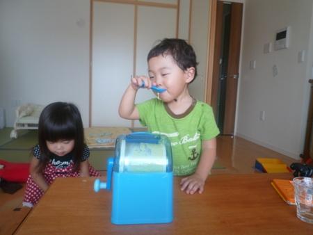 手作りアイス2