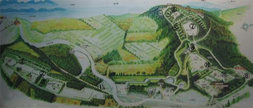 山中城鳥瞰図