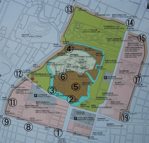 姫路城地図1