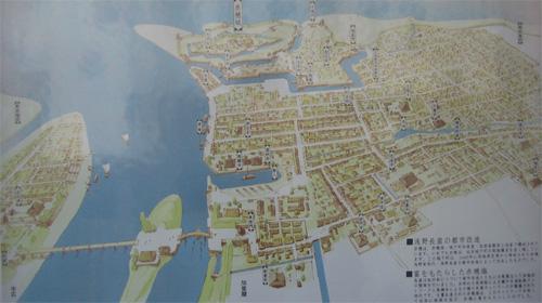 赤穂城俯瞰図