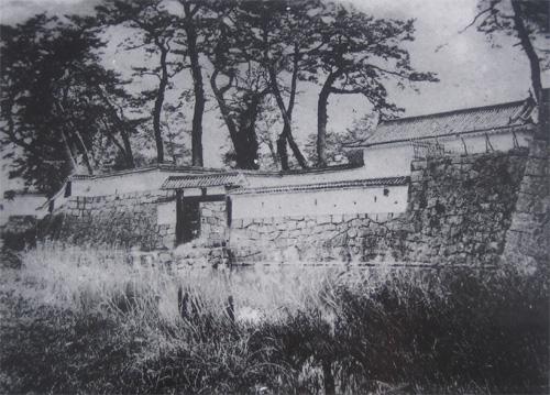 赤穂城本丸門古写真