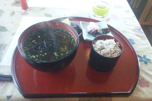 掛川茶蕎麦定食