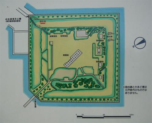 品川第三台場地図