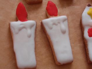 ローソククッキー