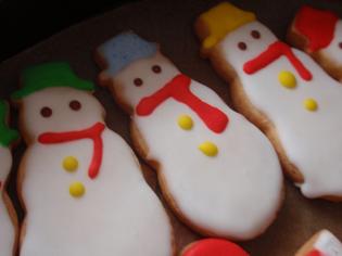 雪だるまクッキー