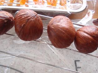 栗チョコ 渋皮煮