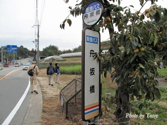船阪橋バスストップ