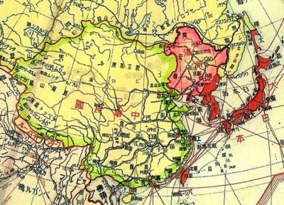 満州地図400