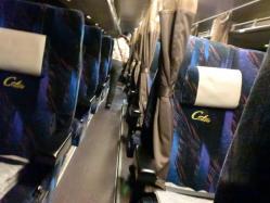 夜行バス車内 CIMG2901