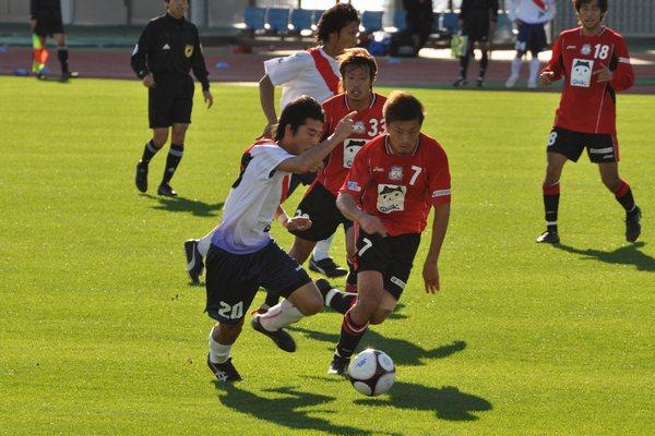 試合vs三菱水島1
