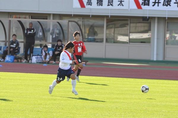 試合vs三菱水島30