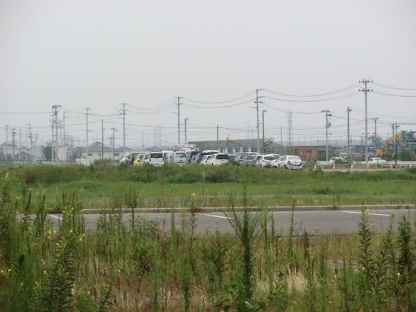 2012仙台空港から対岸