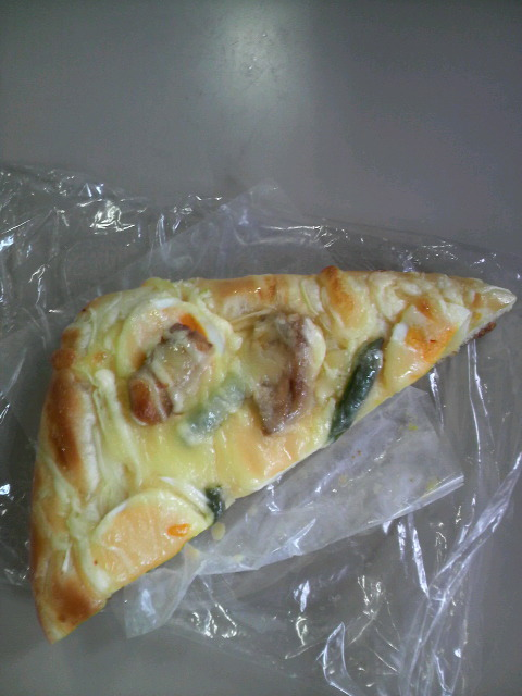 たまごピザ
