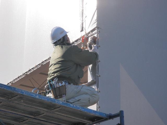 外灯撤去工事  神戸市中央区