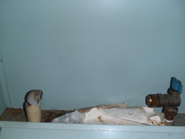 バルブ水漏れ修理