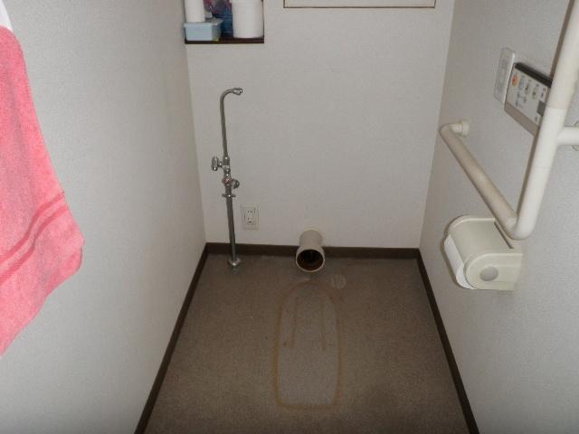 トイレ脱着