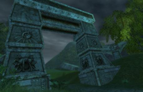 森の神殿!