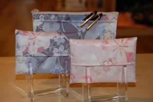 桜 ポーチとティッシュケース