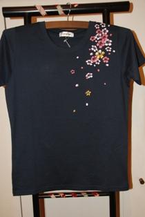 Tシャツ 桜 r