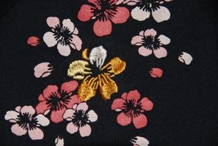 Tシャツ 桜 フロント