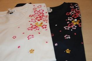 Tシャツ 桜