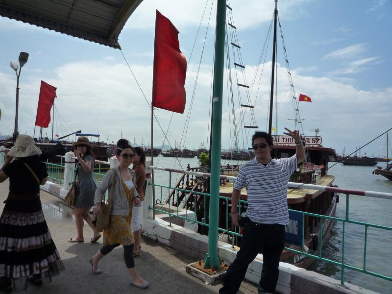 ベトナム旅行2010年9月26日-10月2日ハロン湾2