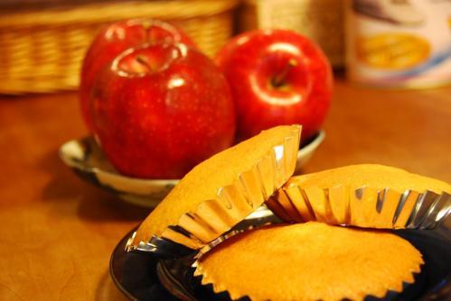 りんごとマドレーヌ