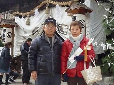 阿賀神田神社初詣