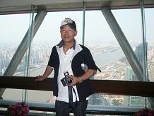 上海東方明珠塔263m展望台SS