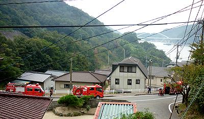 家の前の消火栓が使われる時