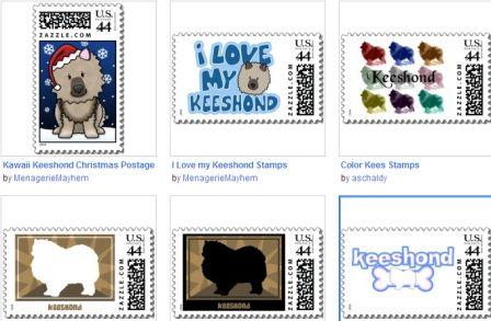 keeshond postage
