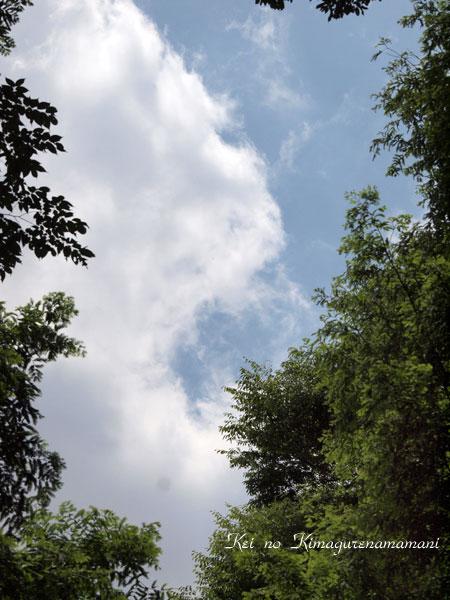 青空と雲♪