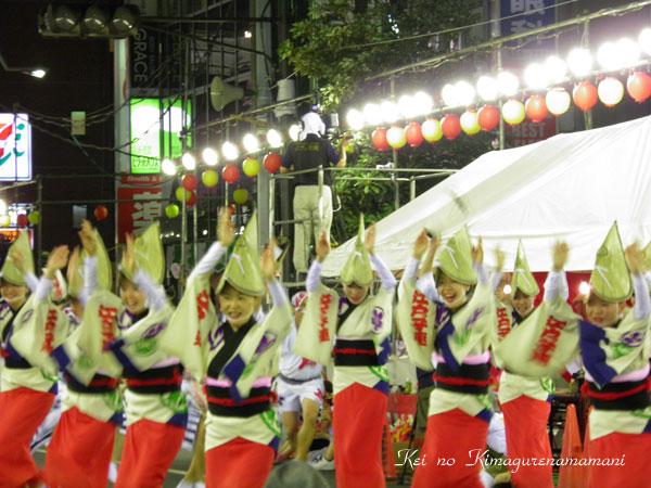 阿波踊り・女踊り♪