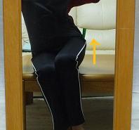 骨盤体操椅子左