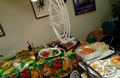 2011クリスマス会料理一部