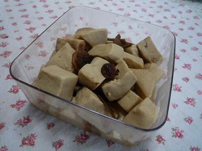 こうや豆腐仕込み