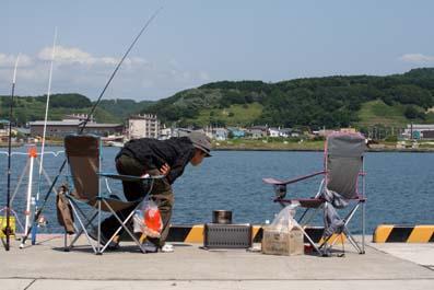 2011,8,3港釣り遊び