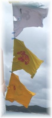 万国旗代わり