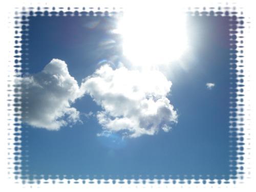 ①太陽ギラギラ