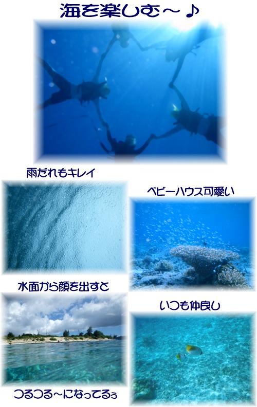 ④海を楽しむ~♪