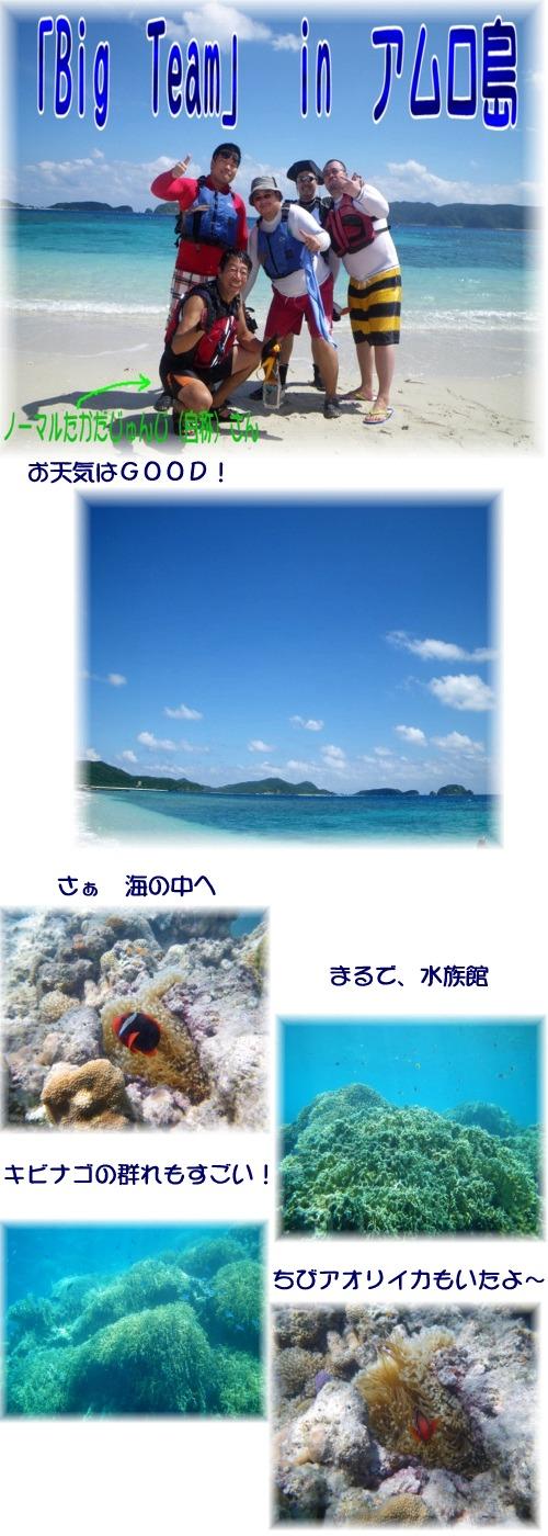 ①in アムロ島