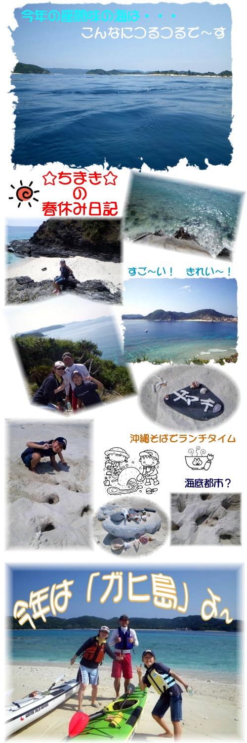 ちまきの春休み日記